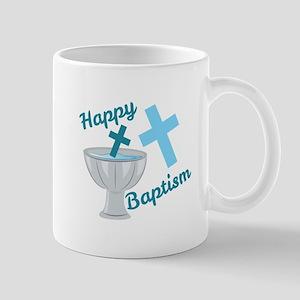 Happy Baptism Mugs