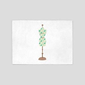 Dress Form 5'x7'Area Rug