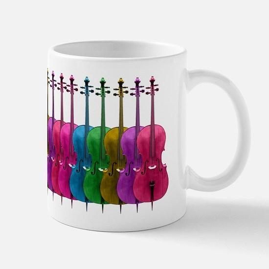 Colorful Cello Mug