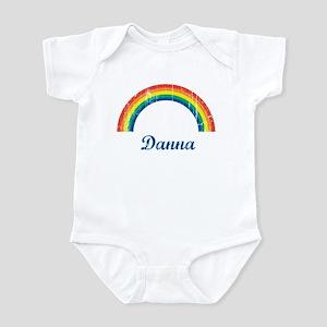 Danna vintage rainbow Infant Bodysuit