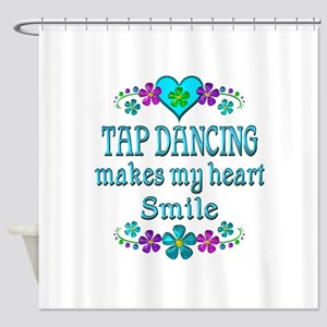 Tap Dancing Smiles Shower Curtain