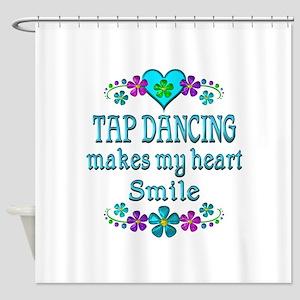 Tap Dancing Smiles Shower Curtain