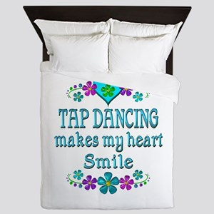 Tap Dancing Smiles Queen Duvet