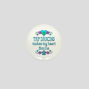 Tap Dancing Smiles Mini Button