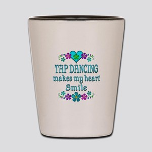 Tap Dancing Smiles Shot Glass