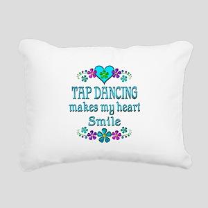 Tap Dancing Smiles Rectangular Canvas Pillow