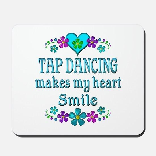 Tap Dancing Smiles Mousepad