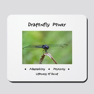 Dragonfly Taking Flight Gifts Mousepad