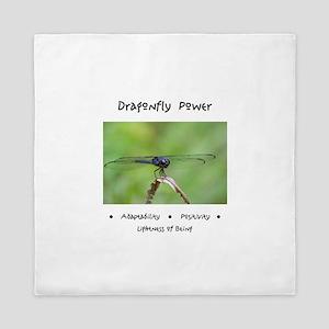 Dragonfly Taking Flight Gifts Queen Duvet