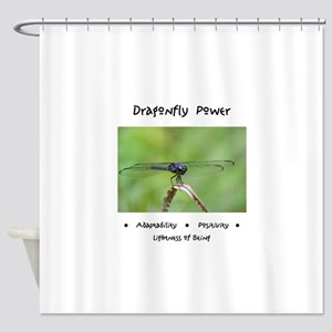 Dragonfly Taking Flight Gifts Shower Curtain