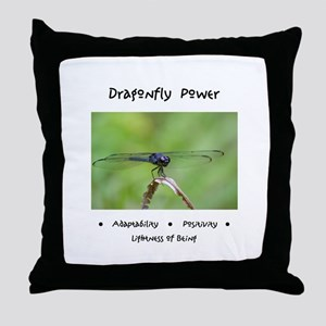 Dragonfly Taking Flight Gifts Throw Pillow