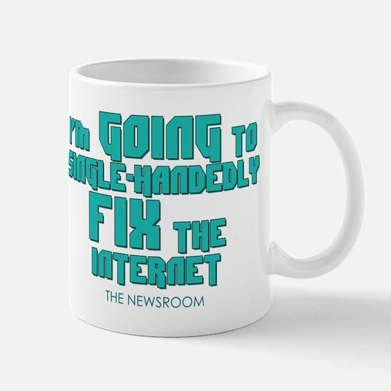 The Newsroom: Fix The Internet Mugs