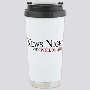 The Newsroom: News Nigh Stainless Steel Travel Mug