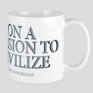 The Newsroom: Mission To Civilize Mug