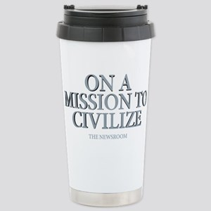 The Newsroom: Mission T Stainless Steel Travel Mug