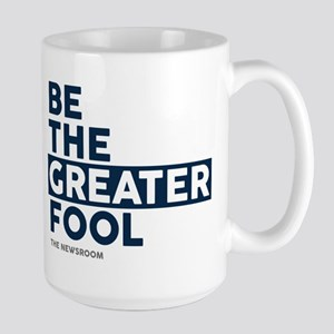 The Newsroom: The Greater Fool Large Mug