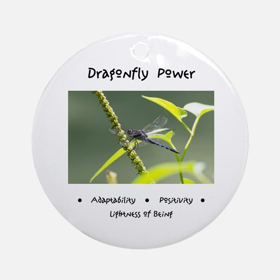 Dragonfly Medicine Gifts Round Ornament