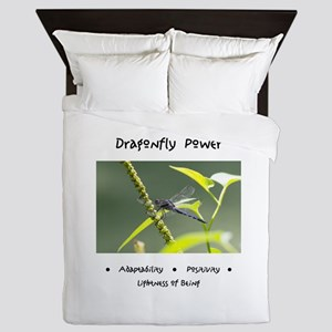 Dragonfly Medicine Gifts Queen Duvet