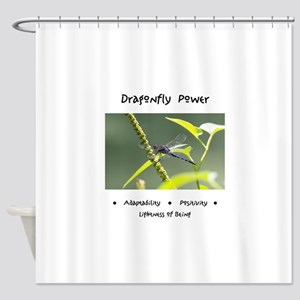 Dragonfly Medicine Gifts Shower Curtain
