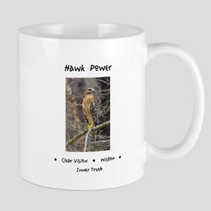 Hawk Power Animal Medicine Mugs