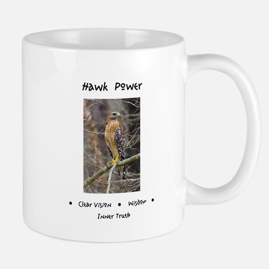 Hawk Power Animal Medicine Mugs
