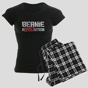 Bernie Revolution Women's Dark Pajamas