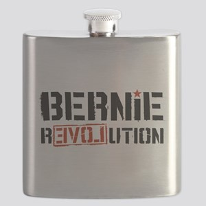 Bernie Revolution Flask