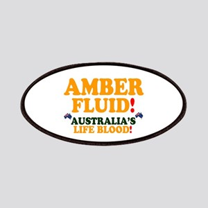 AMBER FLUID - AUSTRALIAS LIFE BLOOD! - Patch