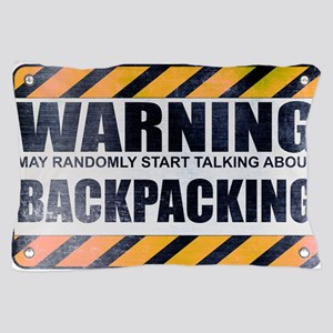 Warning: Backpacking Pillow Case