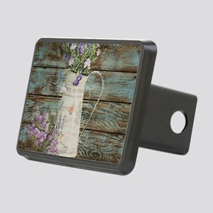 rustic lavender western co Rectangular Hitch Cover
