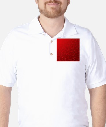 red stars in red Golf Shirt