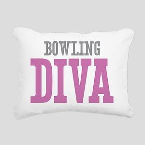 Bowling DIVA Rectangular Canvas Pillow