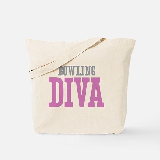 Bowling DIVA Tote Bag