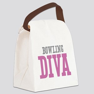 Bowling DIVA Canvas Lunch Bag