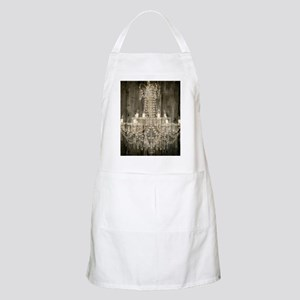 shabby chic rustic chandelier Apron
