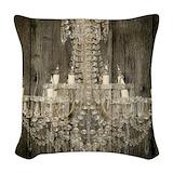 Chandelier Woven Pillows