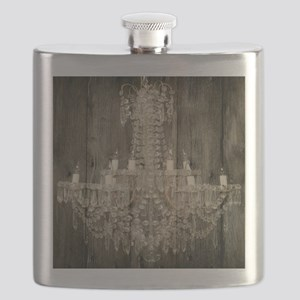 shabby chic rustic chandelier Flask