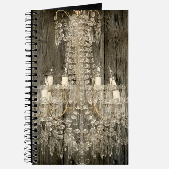 shabby chic rustic chandelier Journal