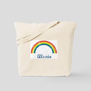 Alexia vintage rainbow Tote Bag
