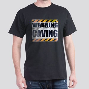 Warning: Caving Dark T-Shirt