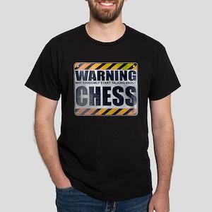 Warning: Chess Dark T-Shirt