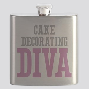 Cake Decorating DIVA Flask