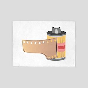 Film Roll 5'x7'Area Rug