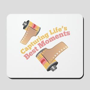 Capturing Moments Mousepad
