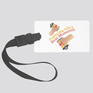 Capturing Moments Luggage Tag