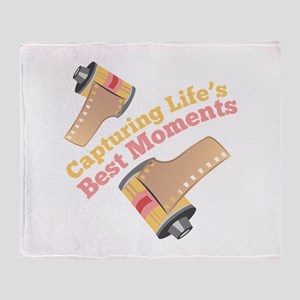 Capturing Moments Throw Blanket