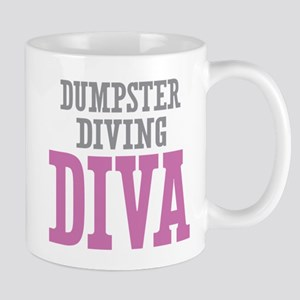 Dumpster Diving DIVA Mugs