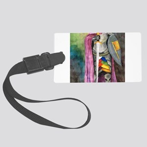 Guardian of Virtue Large Luggage Tag