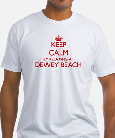 Keep calm by relaxing at Dewey Beach Delaw T-Shirt