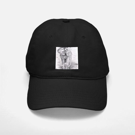 African Elephants Baseball Hat